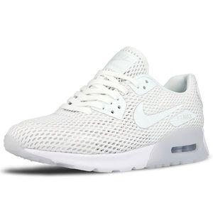 Nike White Air Max 90 Ultra Mesh Sneakers